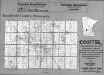 Index Map, Kandiyohi County 1991